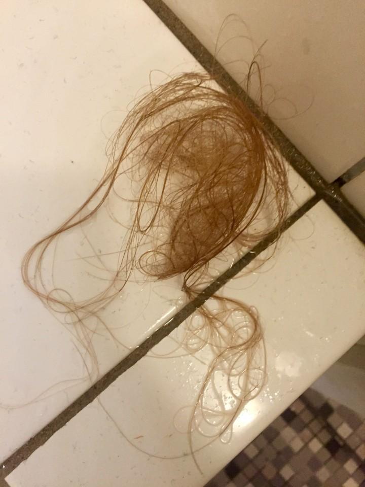 jeg mister meget hår